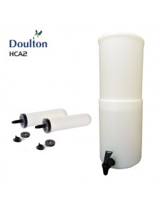 Doulton HCA2 lichtgewicht zwaartekracht waterfilter